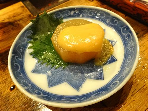 43大根の柚子味噌かけ