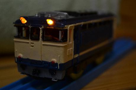 PF ライト点灯なう