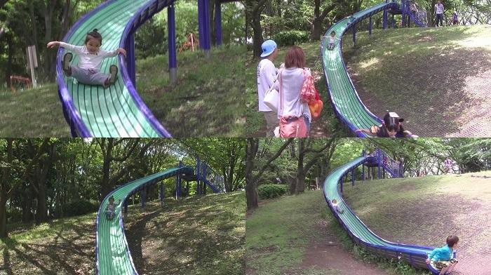 東方公園 滑り台