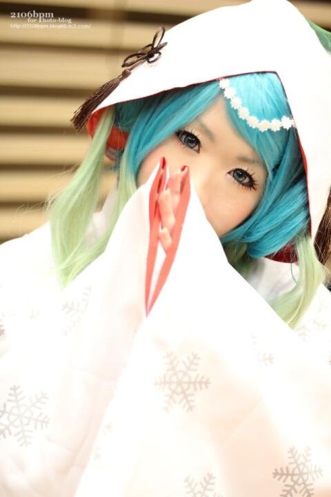 ☆たら(初音ミク SNOW MIKU 2013 雪ミク2013)@となりでコスプレ博 in TFT 2013冬(3日目)☆