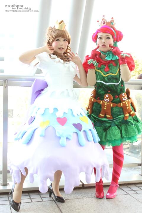 ☆なのはな/よもぎ(クッキークィーン クッキーカーニバル サンタヴィレッジパレード(ダンサー) 東京ディズニーランド)@となりでコスプレ博 in TFT 2013冬(3日目)☆
