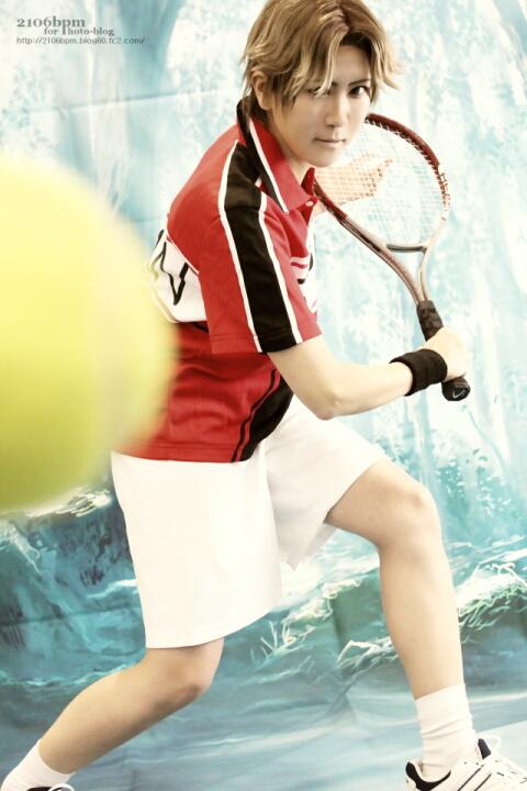 ☆藍(跡部景吾/テニスの王子様)@コスプレ博 in TFT☆