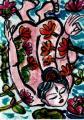 鐘渓頌 朝菊の柵