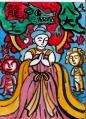 御八大龍王妃神尊々之図