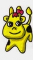 u黄色ベコ