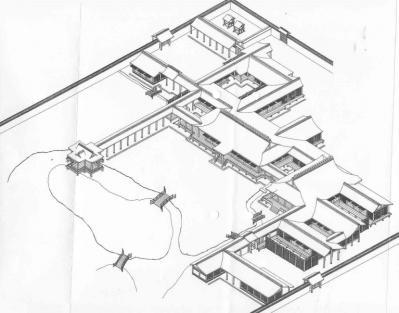 東三条殿(寝殿造の空間と儀式から引用)