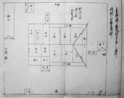 山家藩邸指図