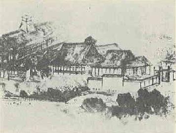 尾張藩邸図(伏見第二小学校)