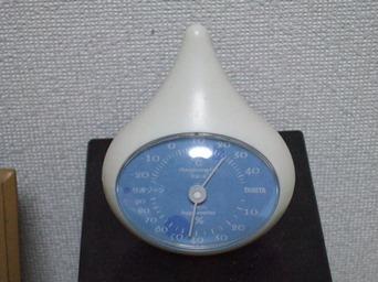 5/18 湿度計最低値に