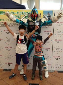 5/5 仮面ライダーと撮影会