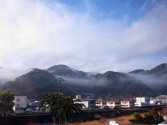 伊豆の山々