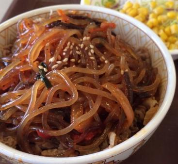 2013-10-31チャプチェ牛丼