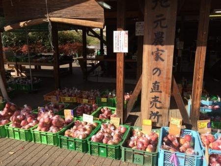2013-11-20リンゴ直売所