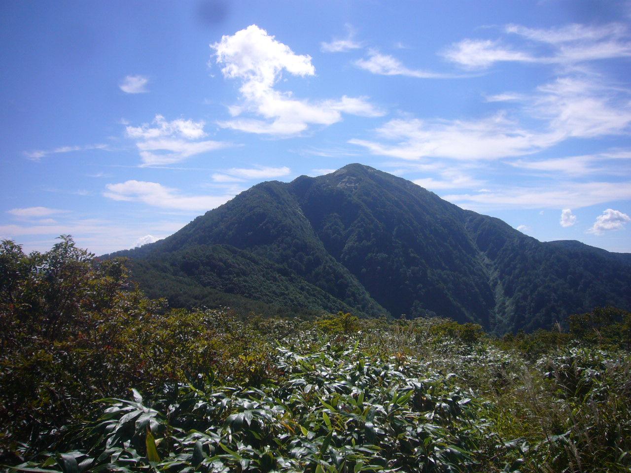 小荒島岳から荒島岳 H26.9.21撮影