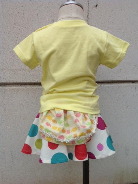 マッシュマジックTシャツとレトロドット3