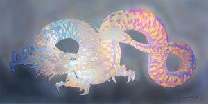 光と愛の感謝日記 虹色の龍神との出会い 草場一壽さんの虹色の龍神の葉書から