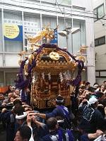 2013戸越八幡神社例大祭宮神輿