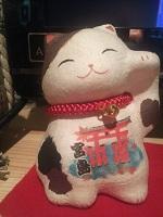 宮島の招き猫