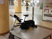 東山公園駅に到着1 20130629