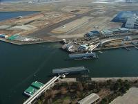 羽田可動橋 上から空撮 20130713