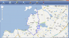 近江八幡 水郷 行程 20131109