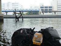 海老取川の廃墟 20130713