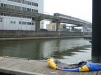 海老取川でギブ 20130713
