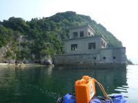 そして監視所の海からの全景が 20130814