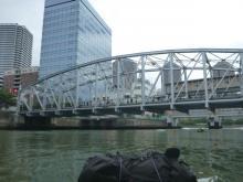 両国橋だった橋の向こうはまた隅田川 20130824