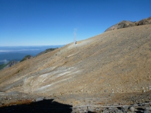 御嶽噴火口 20130927