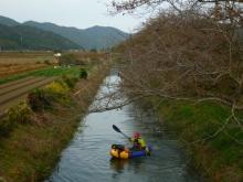 細い水路 20131109