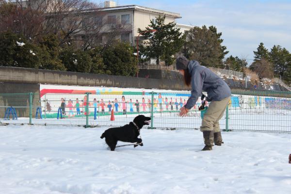 雪遊び13