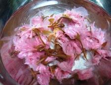桜ご飯 塩抜き
