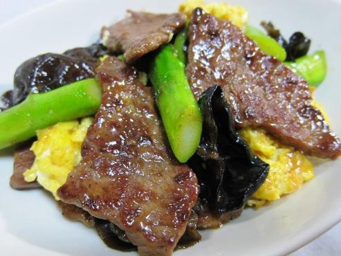 牛肉とアスパラ炒め(B)