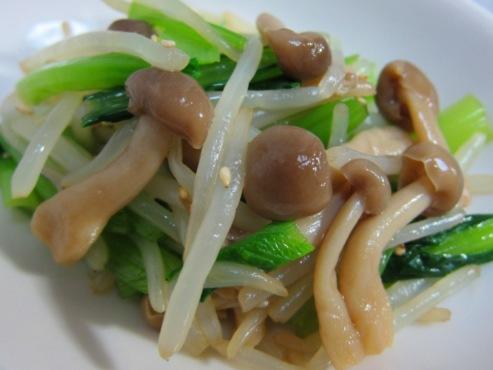 小松菜の和え物大