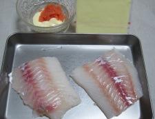 鱈の明太マヨチーズ 材料