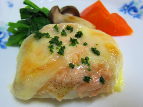 鱈の明太マヨチーズ大