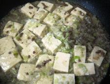 白麻婆豆腐 調理⑥