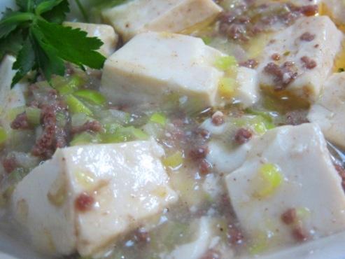 白麻婆豆腐(B)1