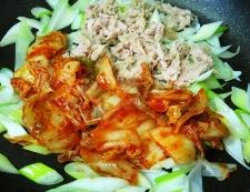 ツナキムチ 調理②