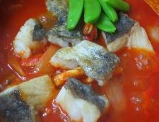 タラのトマトソース煮 調理④