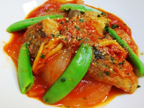 タラのトマトソース煮(B)
