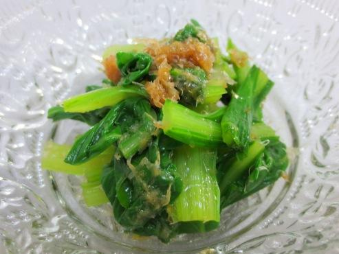 山東菜のおひたし(B)