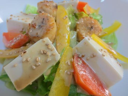 レタスと豆腐の胡麻サラダ(B)