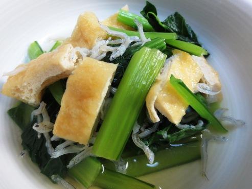 小松菜の炊いたん(B)