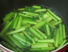 小松菜の炊いたん鍋②