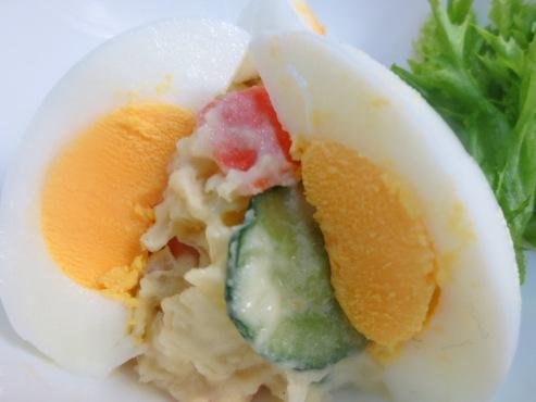 卵とポテトサラダ大