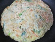 ツナチヂミと韓国冷麺 調理②