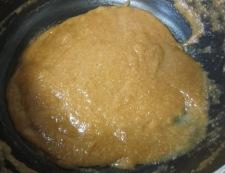 サーモンのピーナッツ醤油ソース 鍋ソース作り