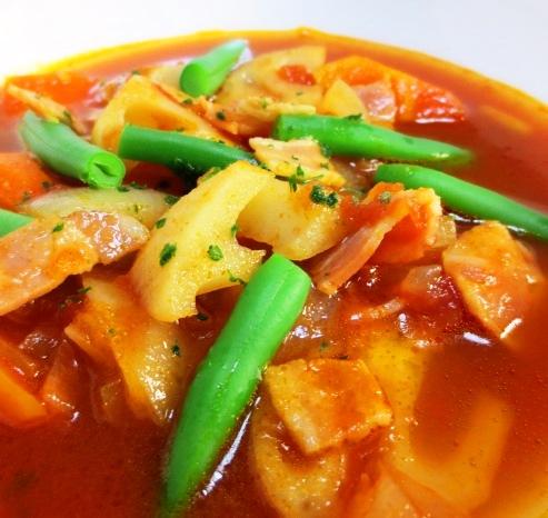トマトスープ拡大